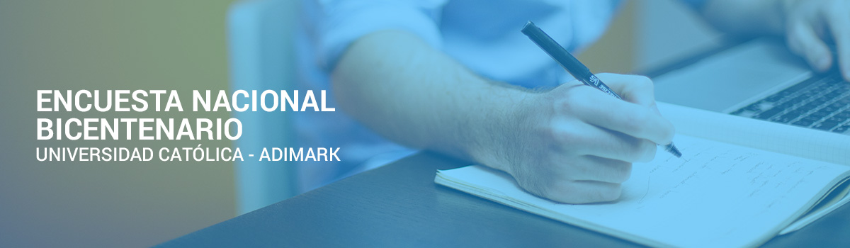 Encuesta Bicentenario UC-Adimark: Expertos analizaron resultados