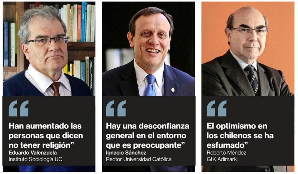 Bajan niveles de amistad de los chilenos en la última década: de 4,3 a 2,5