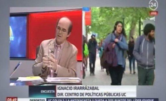 Entrevista a Ignacio Irarrázaval