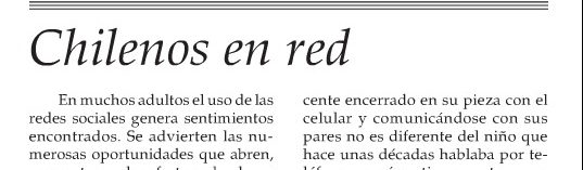 Chilenos en red