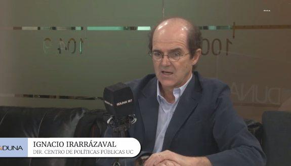 Entrevista a Ignacio Irarrázaval en relación al capítulo de Sociedad