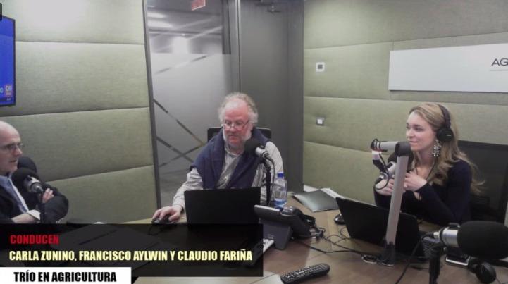 Encuesta Bicentenario 2017: Ignacio Irarrázaval en entrevista con Radio Agricultura