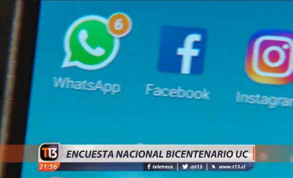 Chilenos y las redes sociales: ¿a cuáles somos más adictos?